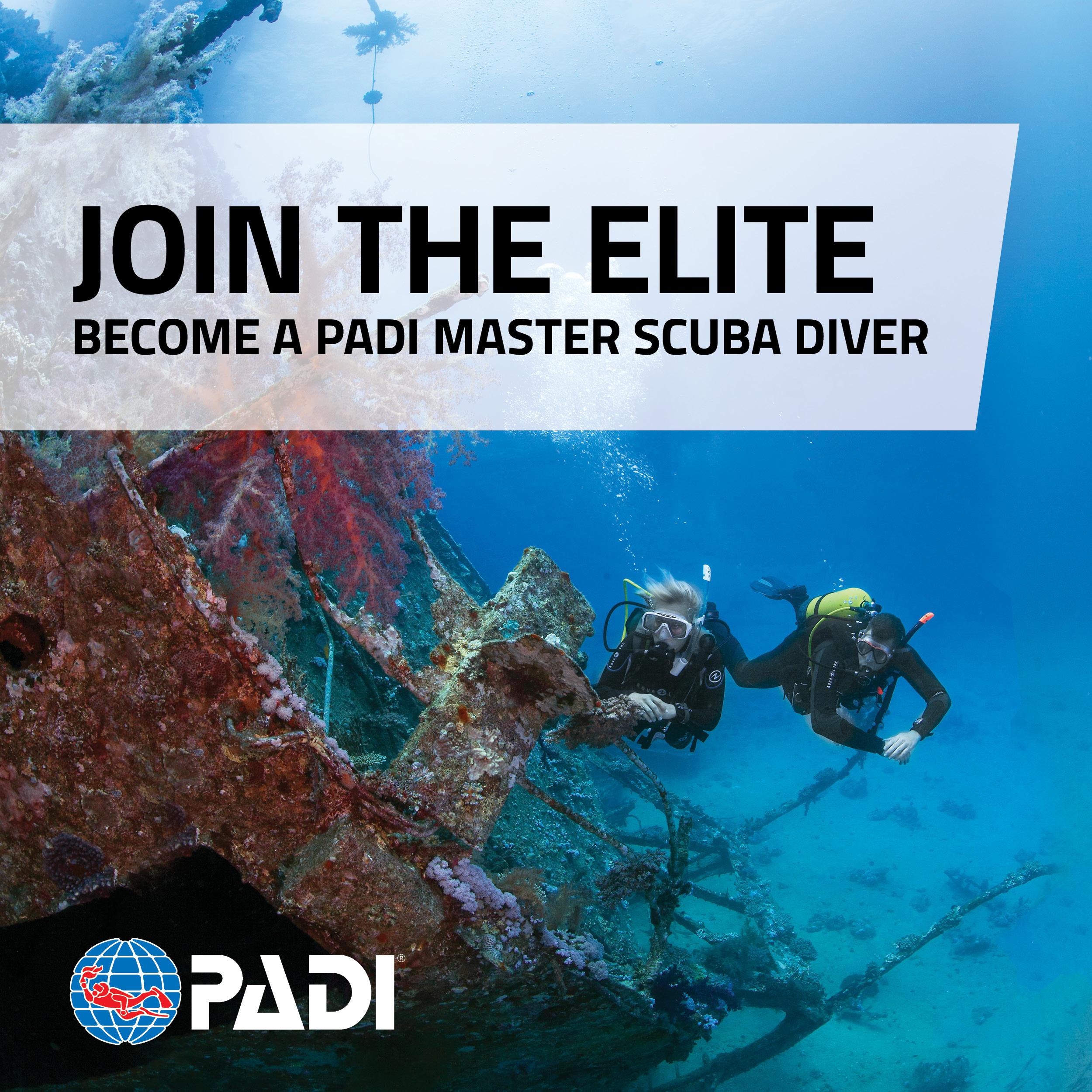 PADI - Master Scuba Diver
