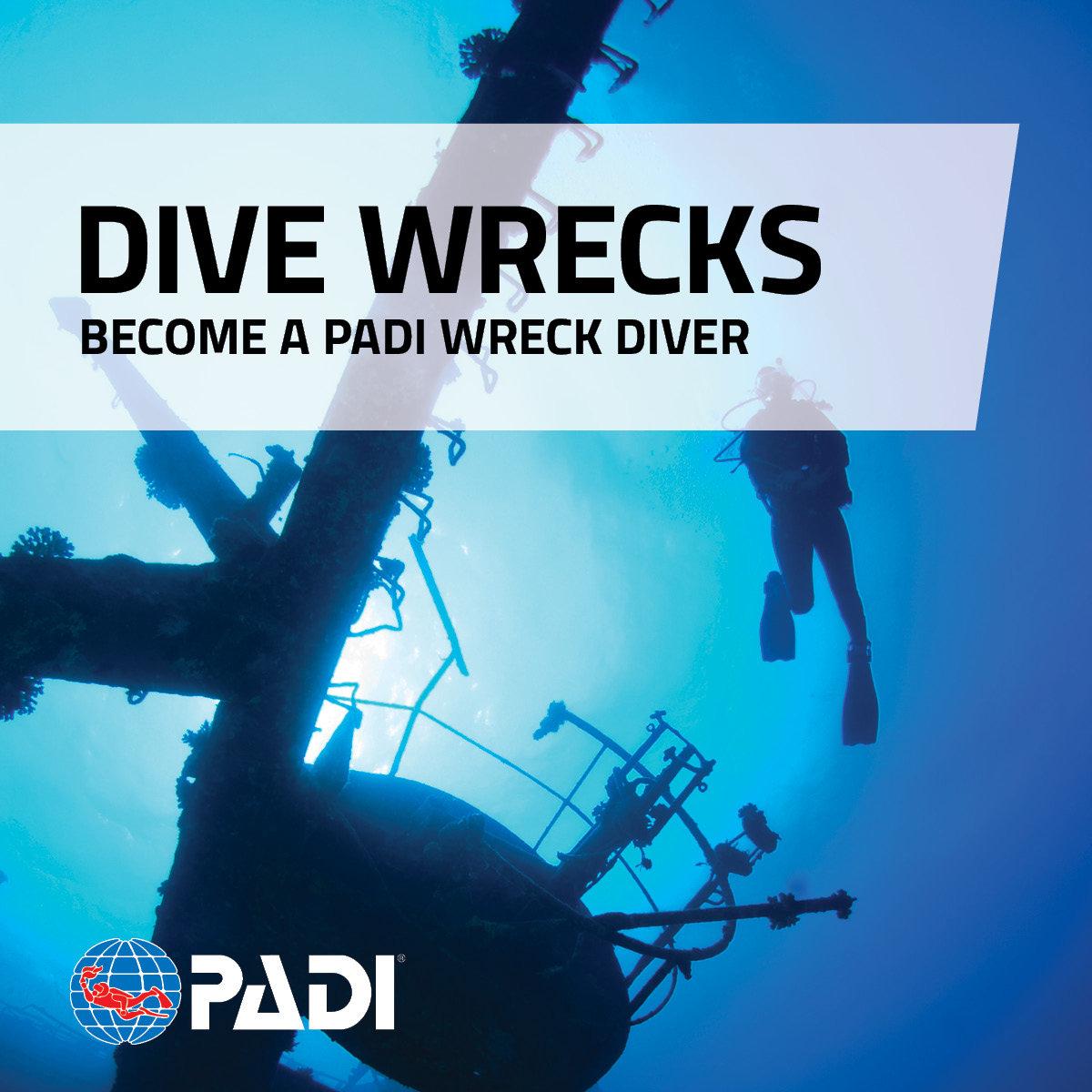 PADI - Wreck Diver Specialty