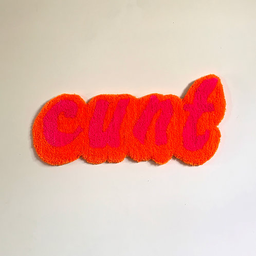 Fluffy Cunt Wall Hanging