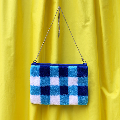 The Evie - Blue Gingham