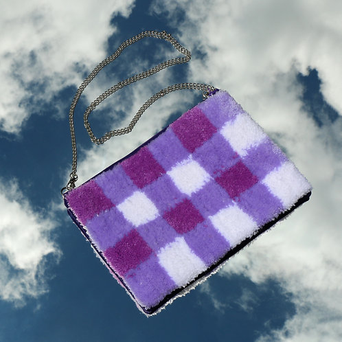 The Evie - Purple Gingham