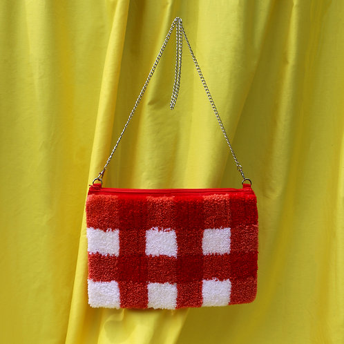 The Evie - Red Gingham