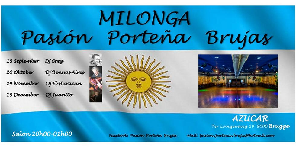Milonga by Pasión Porteña Brujas @ Azucar