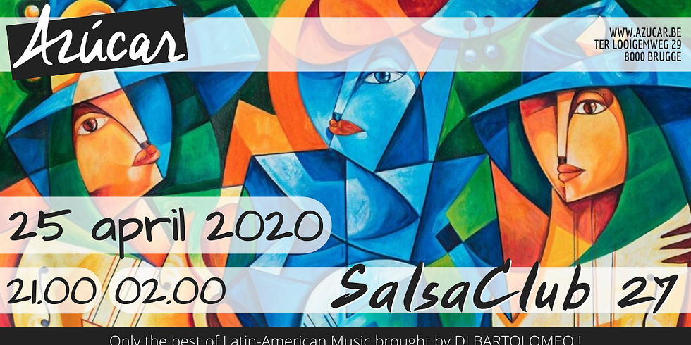 SalsaClub n°27 - Canceled due to COVID-19 restrictions !