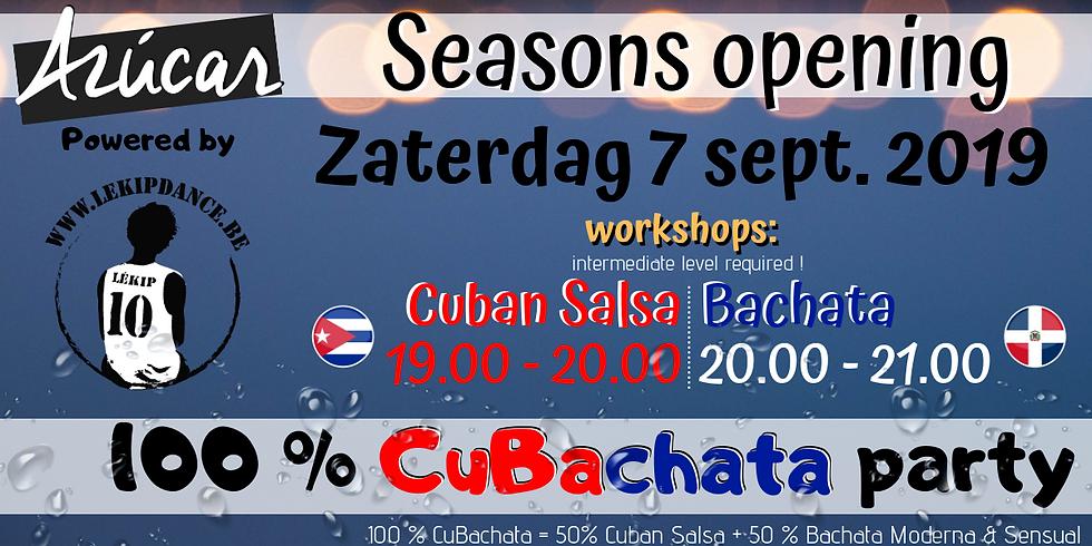 Seasons Opening : Workshops & CuBachataParty