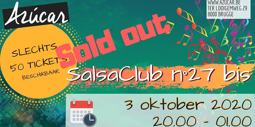 SalsaClub n° 27 Bis - SOLD OUT!!