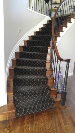 custom staircase runner