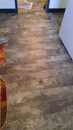 very distressed wood look vinyl planks
