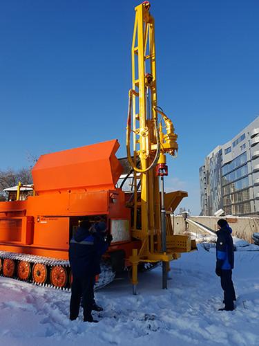 Test drilling URB 2D3