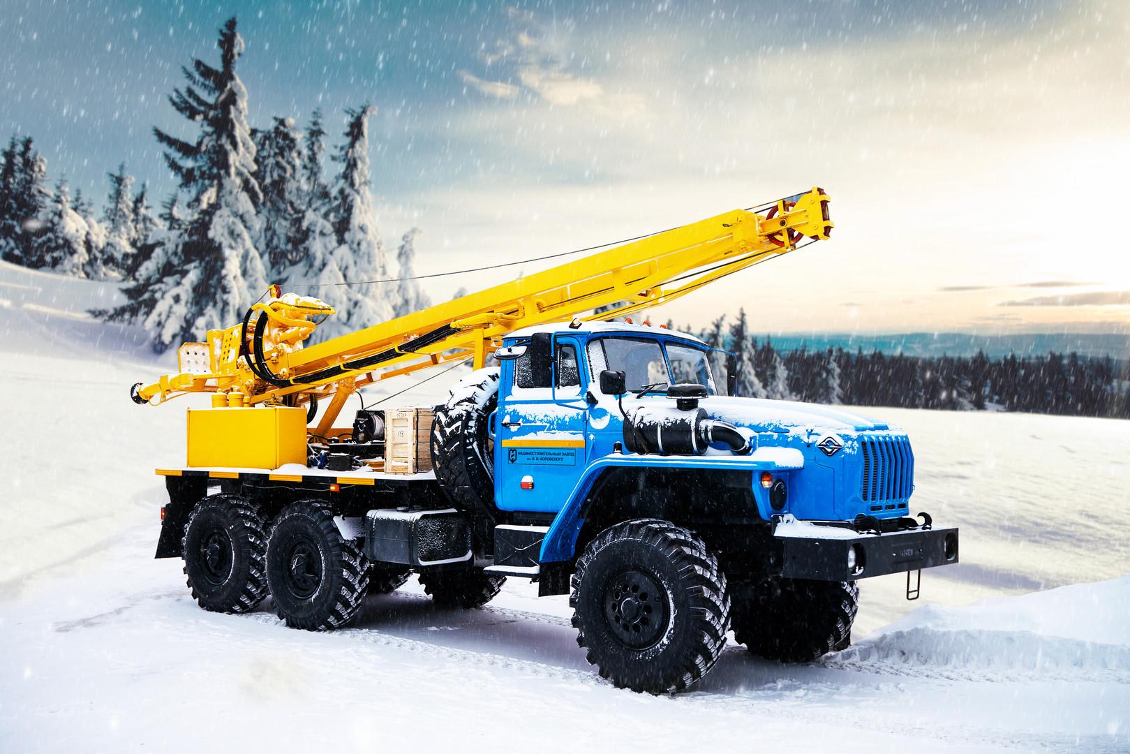 Drilling rig URB 2D3