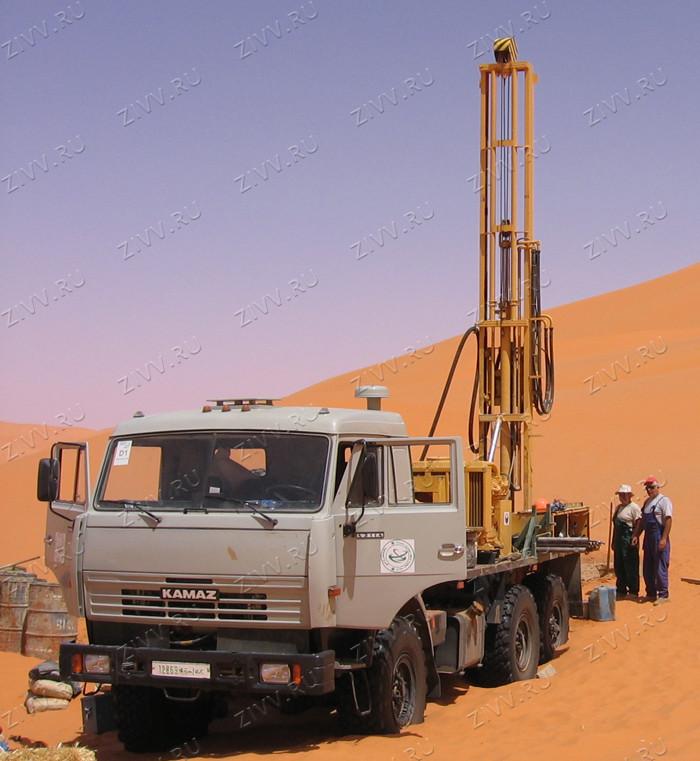 Drilling rig URB 2A2 KaMaz