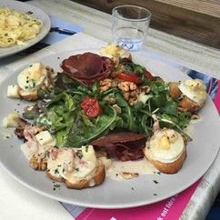 Grande salade - La villa Toscane