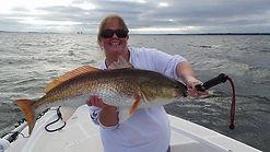 red fishing in Navarre Beach