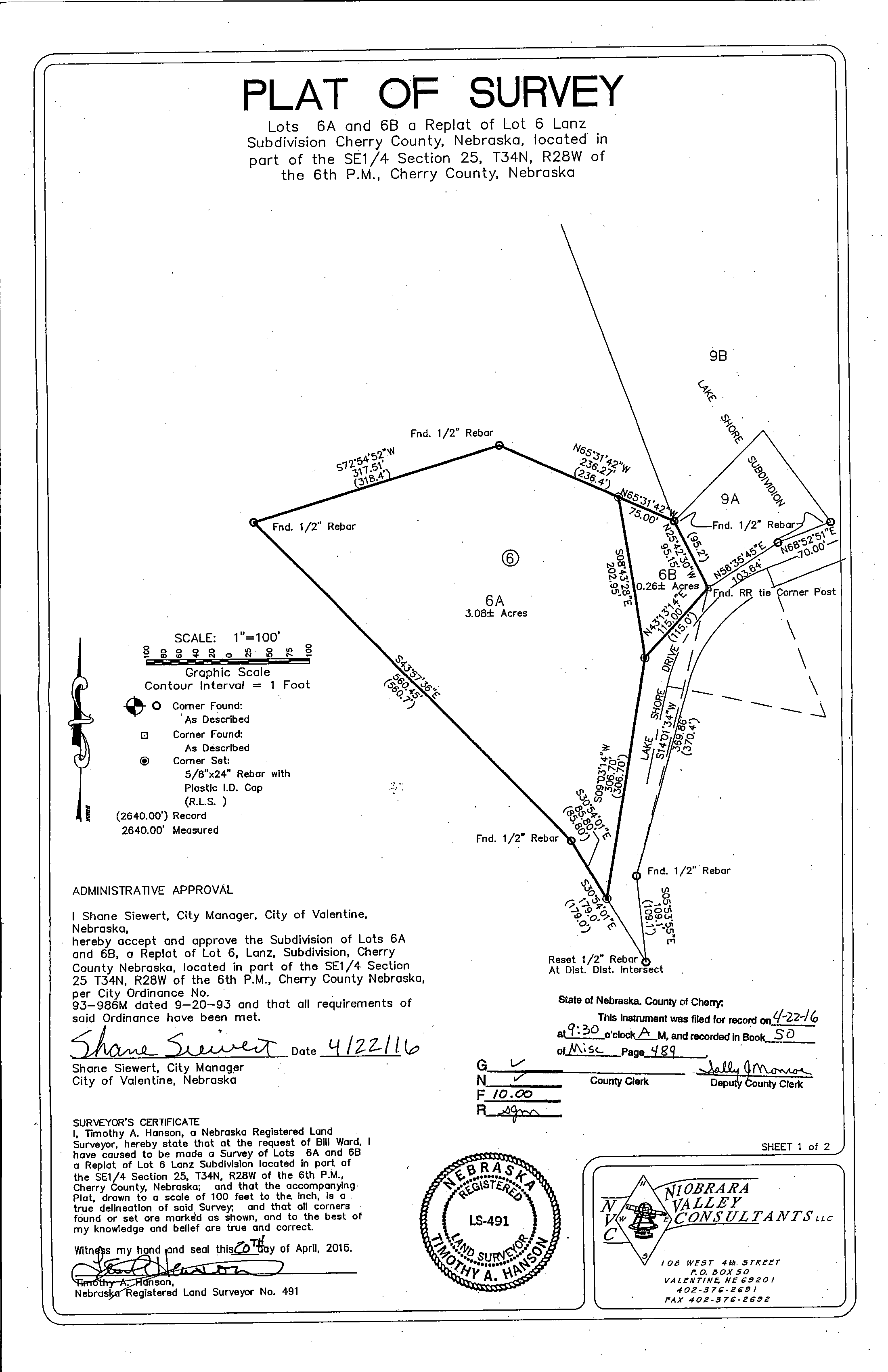 LakeshoreRdCabin_Survey map