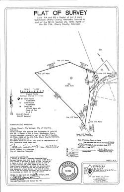 LakeshoreRdCabin_Survey map