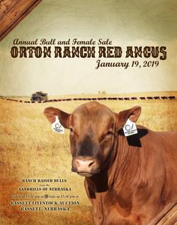 Orton Ranch Red Angus Catalog 2019