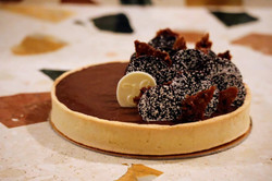 Citroen chocoladetaart