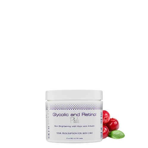 Glycolic and Retinol Pads 2oz