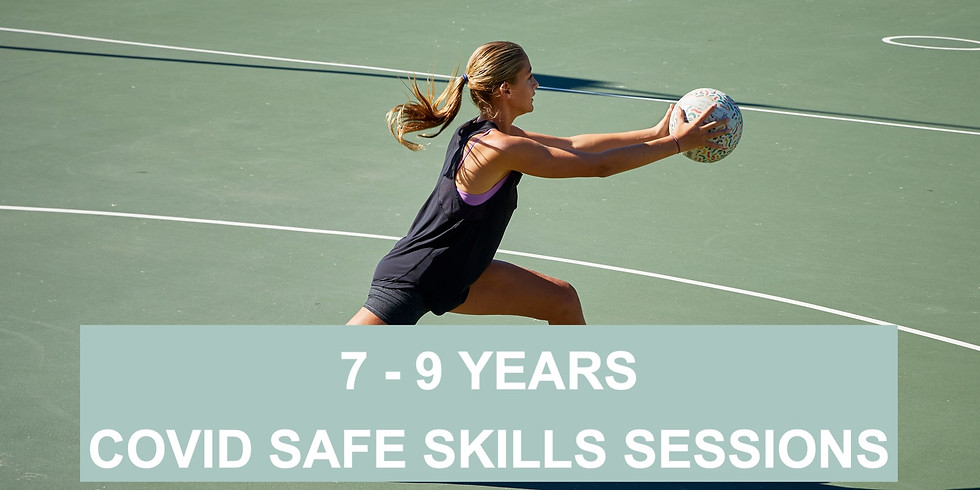 7 - 9 Years: Netball Covid safe drills