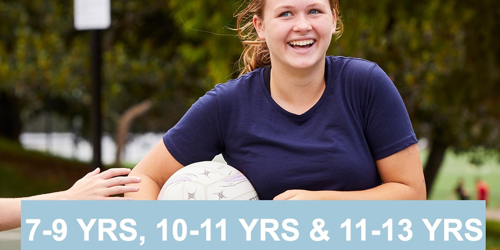7 - 13 Years: Netball Covid safe drills
