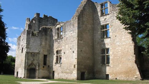 Ruins of Periqueux castle
