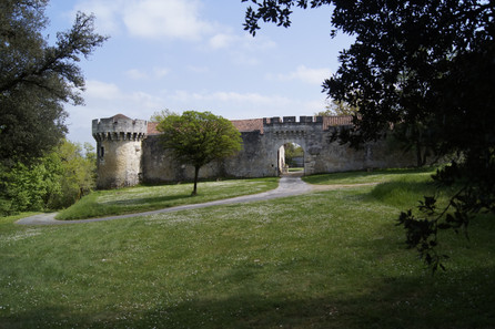 Outer bailer entrance and guard tower