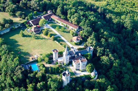 Castle from the air