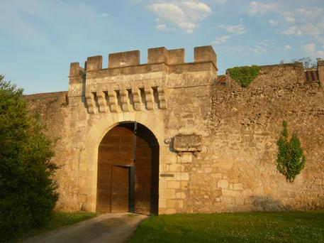 Outer bailey entrance
