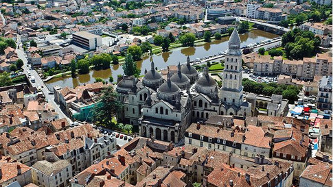 Periqueux from the air
