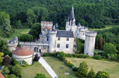 Inner castle and pigeon house