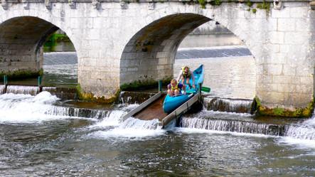 Boating in Brantome