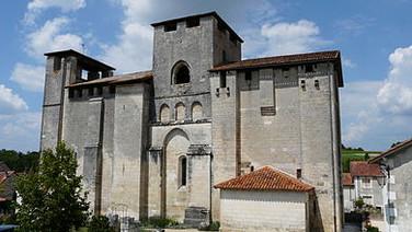 Grand Brassac 12th c. church