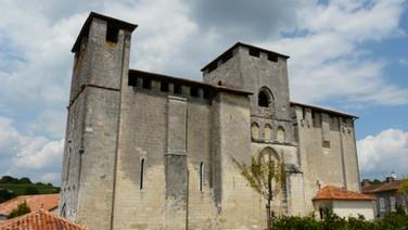 Paussac 12th c. church