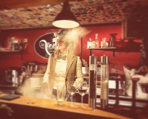 #le Bistronome #noeudpap #chapeaumelon #