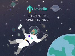 Myndlift Selected to Go to Space in 2022!