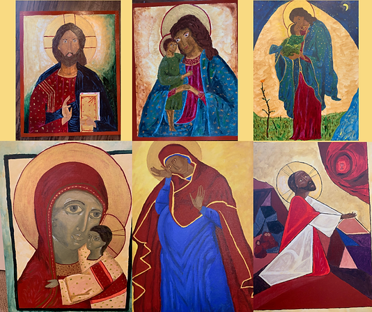 Theotokos and Jesus