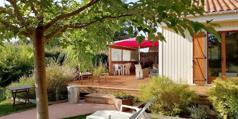 Autoconstruction terrasse et pergola en bois