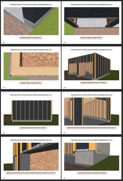 Autoconstruction ossature bois