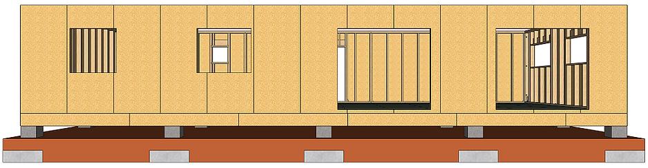 Plans maison ossature bois