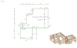 Plan de pose mur ossature bois