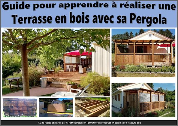 Réalisation terrasse et pergola bois