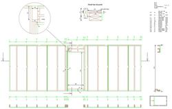Plan fabrication mur ossature bois