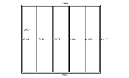 Plan numérotation des pièces