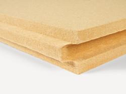Isolation fibre de bois rigide