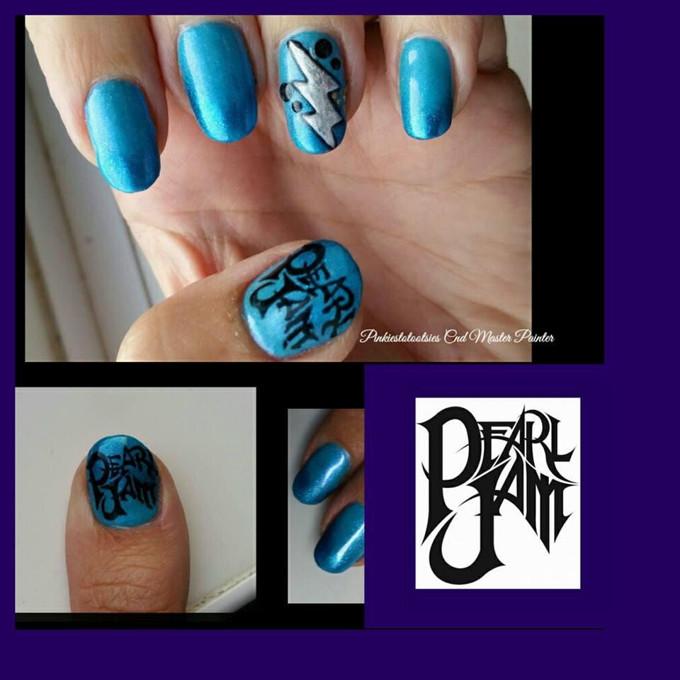 Music/Band Themed Nails