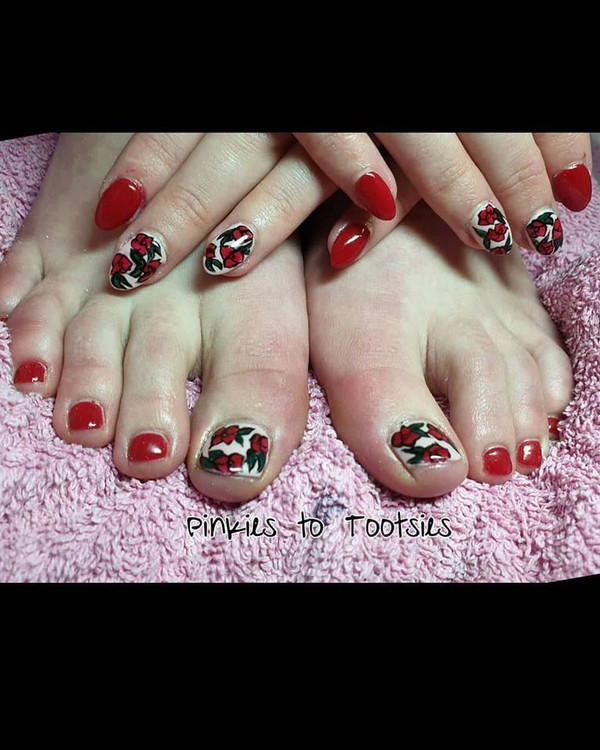 Art Deco Prom Pinkies and Tootsies