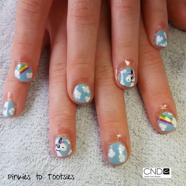 Easter Unicorn Nails