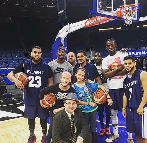 No Child Fights Alone Celebrity Basketball Game