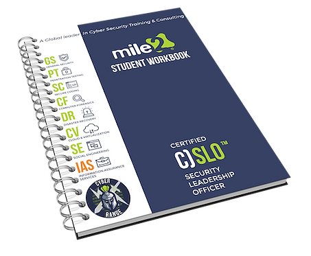 C)SLO - Certified Security Leadership Officer Courseware Kit