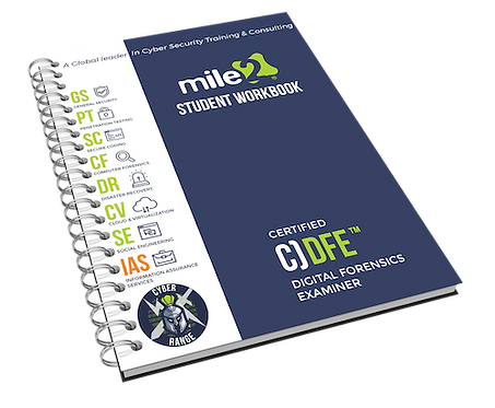 C)DFE - Certified Digital Forensics Examiner Courseware Kit